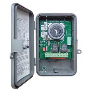Outdoor Timer For Lights Lighting And Electronic Timers Intermatic 24 Hour Outdoor Timer
