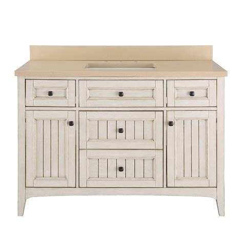 Vanity Quartz Home Decorators Collection Klein 49 In Vanity In Antique