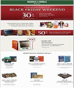barnes and noble black friday ad 2015
