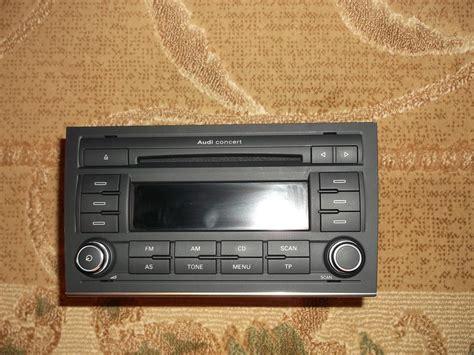 Audi A4 Radio by Radio Audi A4 B7 Concert Elektroda Pl