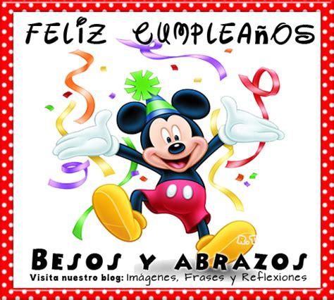 imagenes feliz cumpleaños mickey mouse im 225 genes frases y reflexiones invitaciones mimi y mickey