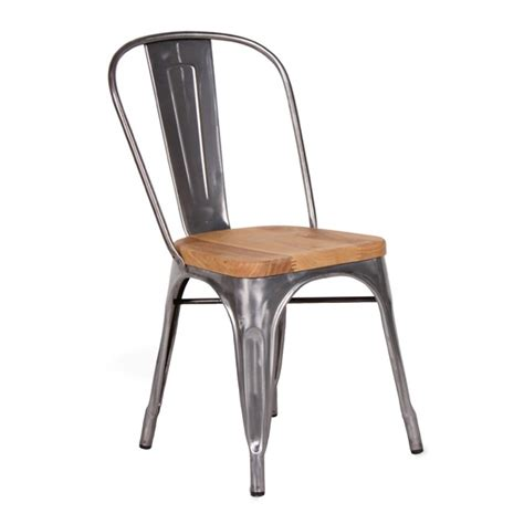 chair seat replica xavier pauchard wooden seat tolix chair