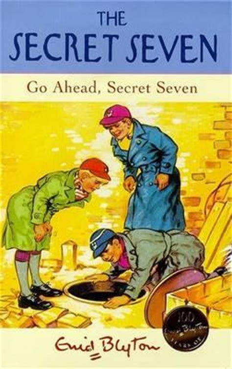 Go Ahead Secret Seven By Enid Blyton Paperback go ahead secret seven enid blyton 9780340703946