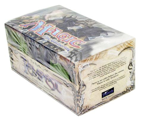 magic the gathering starter decks magic the gathering tempest tournament starter deck box
