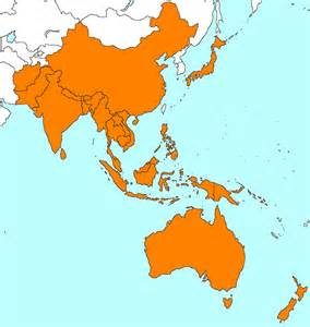 Map Of Asia Pacific by Map Of Asia Pacific Countries Pictures To Pin On Pinterest