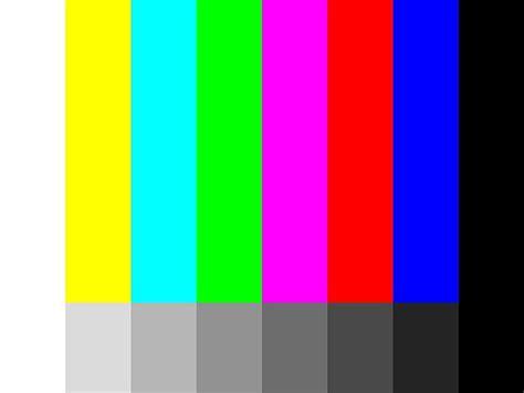 Tv Rusak File Monochrome And Colour Bars Jpg Wikimedia Commons