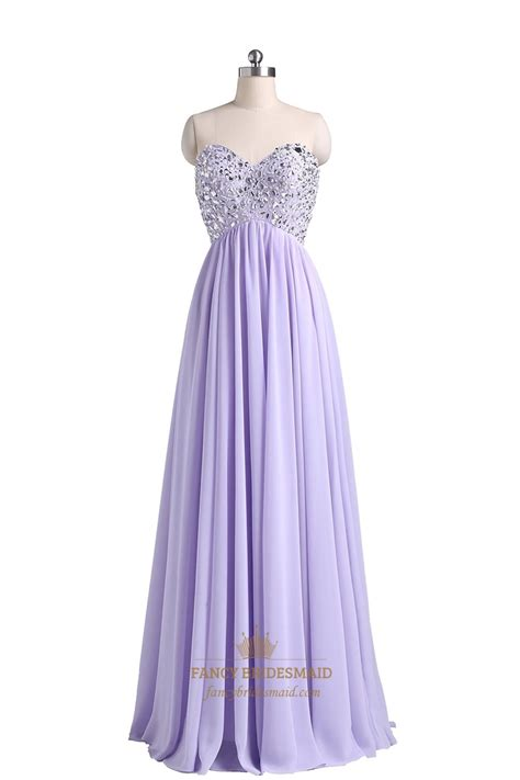 sweetheart beaded prom dress violet chiffon strapless sweetheart beaded bodice ruffle