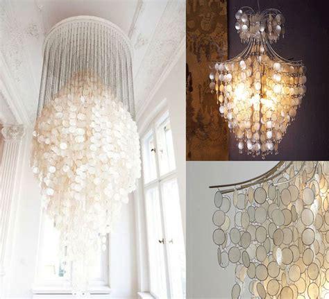 Kitchen Island Light Fixtures capiz drop chandelier interior design inspiration eva