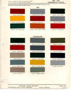 vintage studebaker paint colors vintage paint