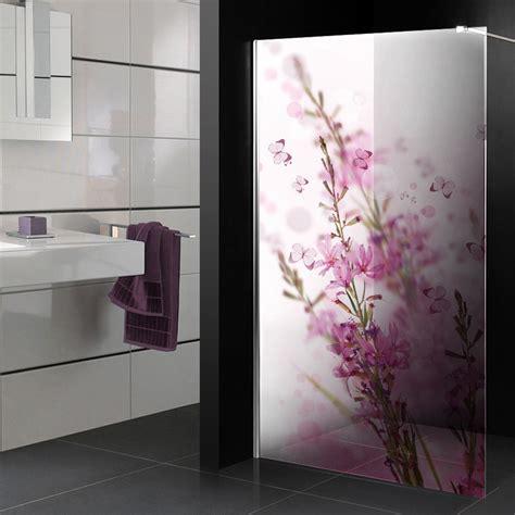 adesivi per box doccia adesivi follia adesivo traslucido per box doccia fiori