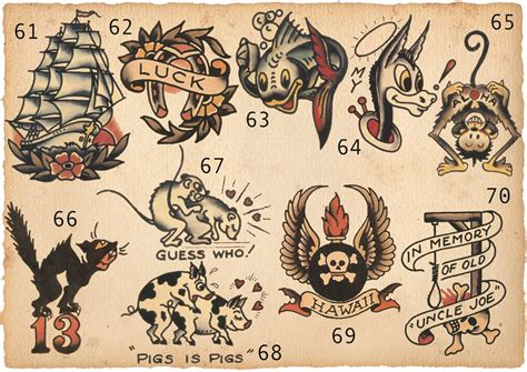 pin sailor jerry hip tattoos 1 on pinterest