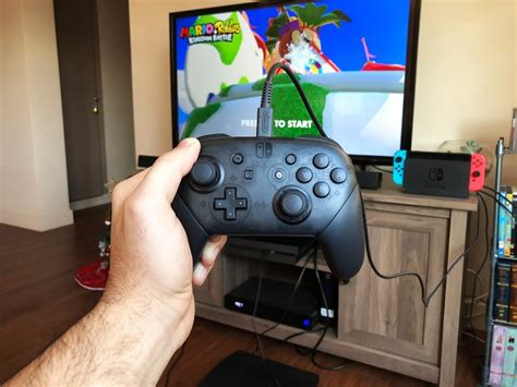 Diskon Pro Controller Switch how to use a nintendo switch pro controller in wired mode