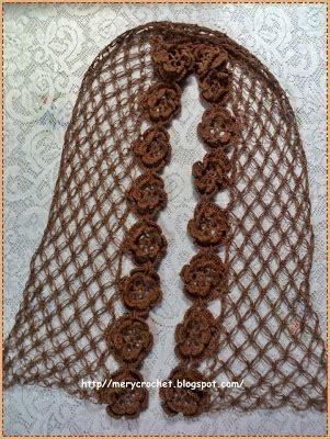 como aprender hacer punto salomon en crochet como hacer a crochet bufanda con borde de flores y punto