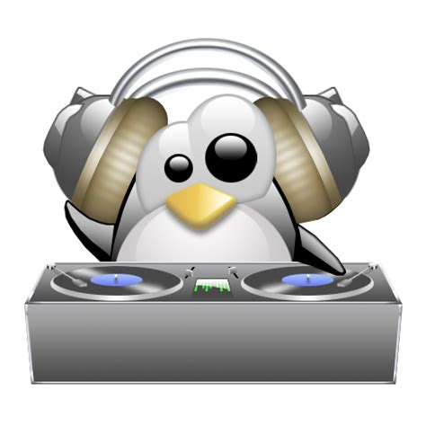 Penguin Shower Radio For Linux Users by Dj Cliparts Co