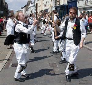 Give it some stick traditional english morris dancers say they have