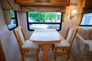 Dining Table And Chairs For Rv Rv Storage Tip Space Getting Organized In An Rv
