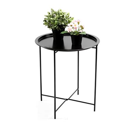 small round metal accent table onneco small round accent finnhomy small round side end table sofa table tray side