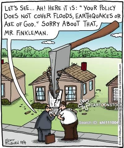 does house insurance cover natural disasters natural disaster cartoons and comics funny pictures from cartoonstock