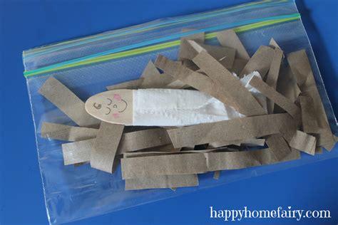 easy baby jesus craft  printable happy home fairy