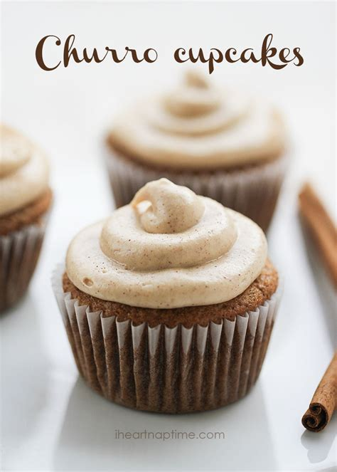 cupcake recipe churro cupcakes w cheese frosting i nap time