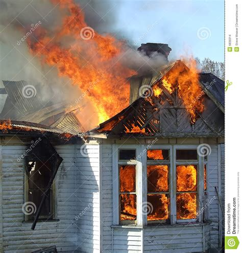 black woman house on fire wooden house on fire stock images image 6839314