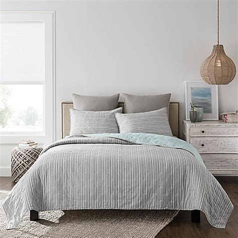 real simple coverlet real simple 174 skylar quilt bed bath beyond