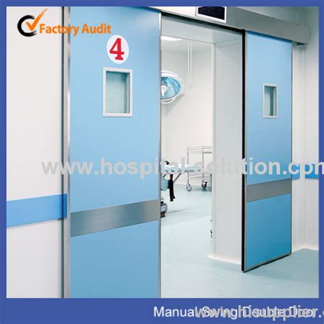 hermetically sealed room hospital hermetic sealed manual swing door for operating room products china products
