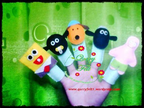 Boneka Karakter Pilot Family boneka jari kain flanel berbagai karakter sebagai sarana edukasi dan pengenalan untuk anak anak