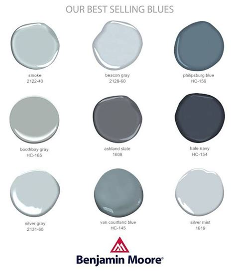 best selling grays benjamin moore color pinterest best selling blues and grays by benjamin moore for my