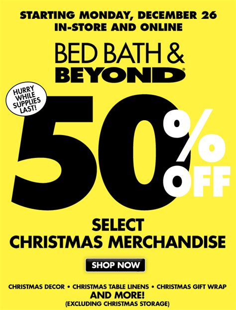 bed bath beyond holiday hours in your finery after christmas shop o rama
