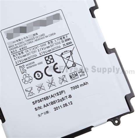 Baterai Samsung Galaxy Tab P5100 samsung galaxy tab 2 10 1 gt p5100 gt p5110 battery etrade supply