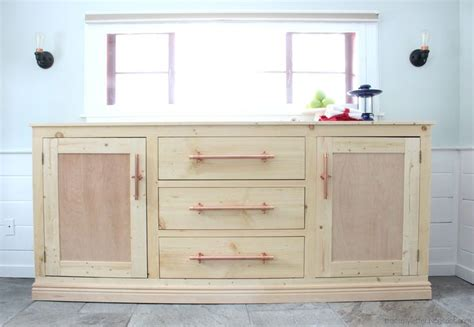Plans For Wood Buffet Cabinet