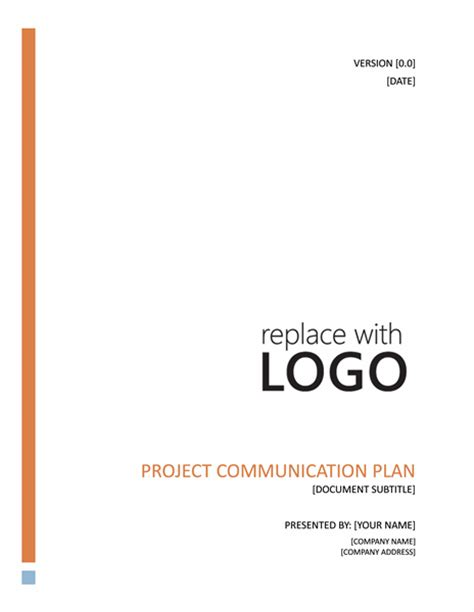 templates on word project communication plan office templates