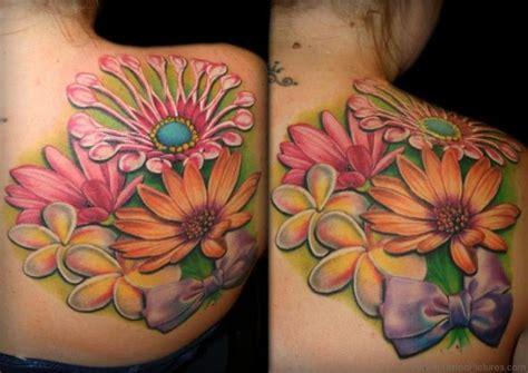 82 elegant flower tattoos on shoulder