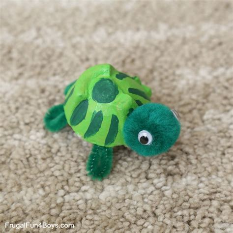 turtle craft for adorable egg turtle craft and a caterpillar and