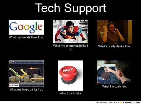 Tech Support Memes - career memes of the week technical support careers