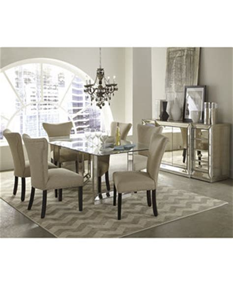 Mirrored Dining Room Furniture Mirrored Dining Room Furniture Collection Furniture Macy S
