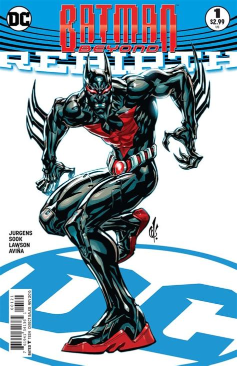 batman beyond vol 2 rise of the rebirth books preview of batman beyond rebirth 1