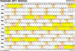 Kalender 2018 Pdf Bremen Kalender 2017 Bremen Ferien Feiertage Pdf Vorlagen