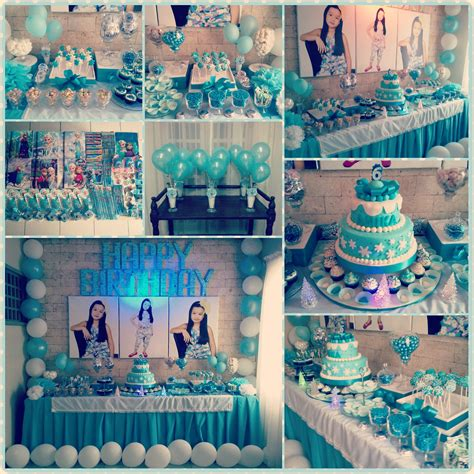 frozen themed party kelso frozen theme birthday party angela christi s online diary
