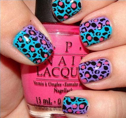 leopard pattern nail art hot animal print nail art