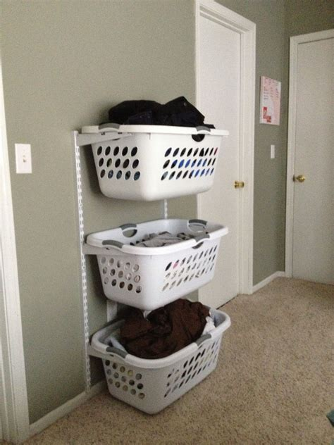 I Was Totally Thinking About Doing Something Like This Laundry Storage