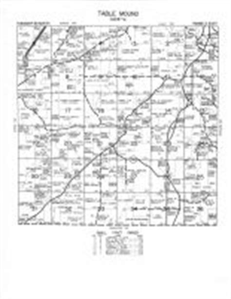 Table Mound by Table Mound Atlas Dubuque County 1967 Iowa Historical Map