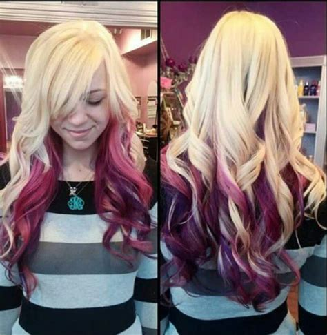 Avi 2 Tone Color Pink two tone hair color and www pixshark images galleries with a bite