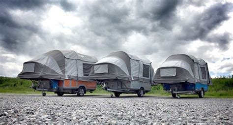 designboom tents the air opus cer goes from trailer to tent in sub 90