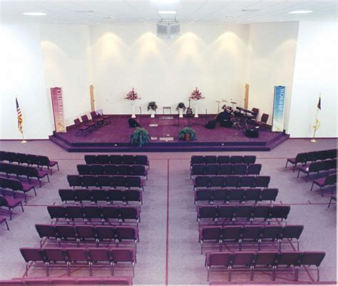 decorating a church sanctuary