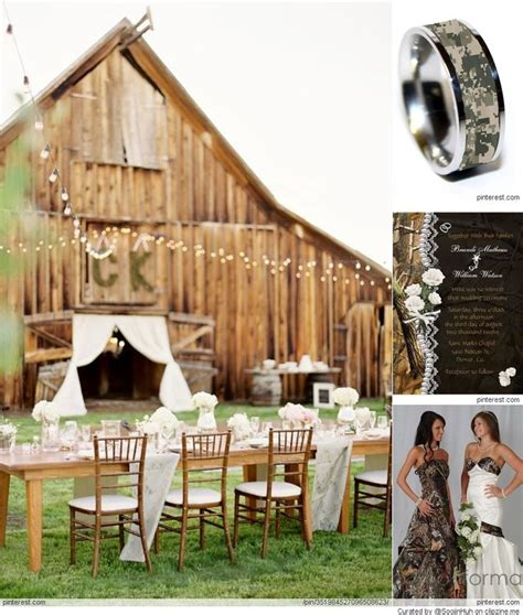 Camouflage Wedding Decorations by Camo Wedding Ideas To Camouflage