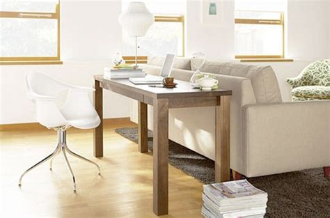 desk behind sofa design small space solutions home offices centsational girl