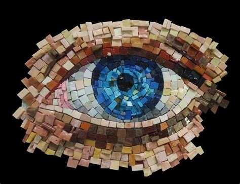 Mosaic Pattern In Eye | 120 best images about mosaics on pinterest mosaics