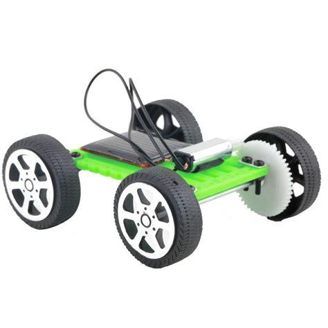 Mainan Edukasi Anak Mini Solar Diy Car Iq Robot mini solar diy car children educational puzzle iq robot green jakartanotebook